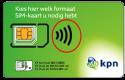 Gratis KPN Prepaid Simkaart t.w.v € 10,-